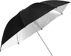 Черный зонт для профессиональной фотовспышки
